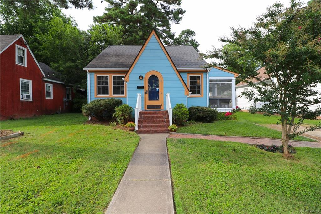 Welcome home to this well maintained 3 bedroom, 1 bath Cape Cod home with attached screened porch an