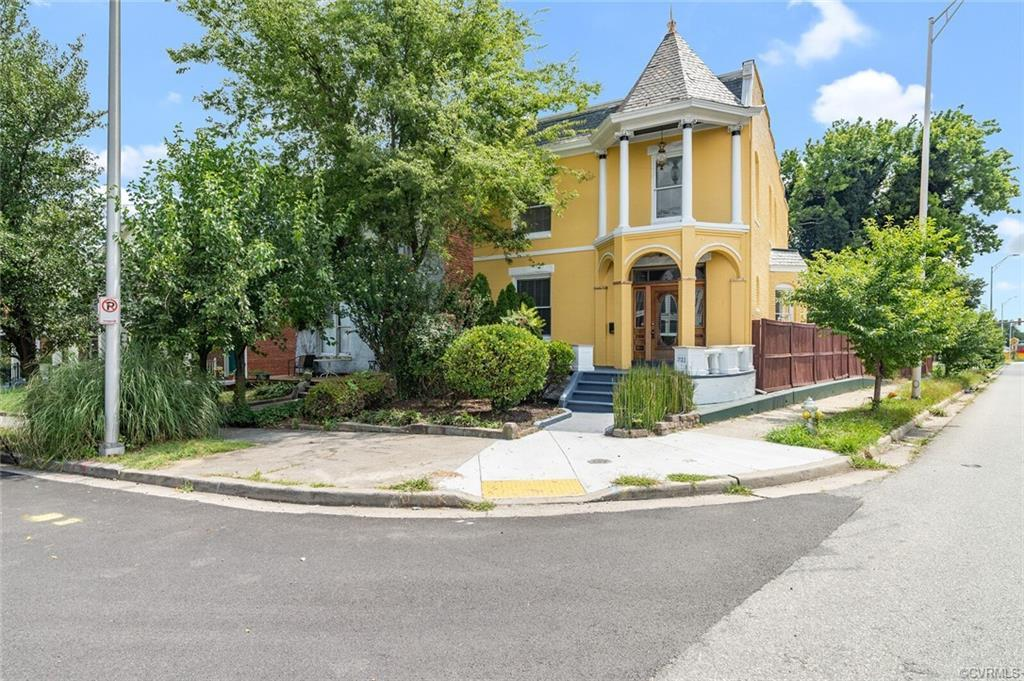 Back on market to no fault of owner, this stunning 1926 Victorian- Queene Anne style home is part of
