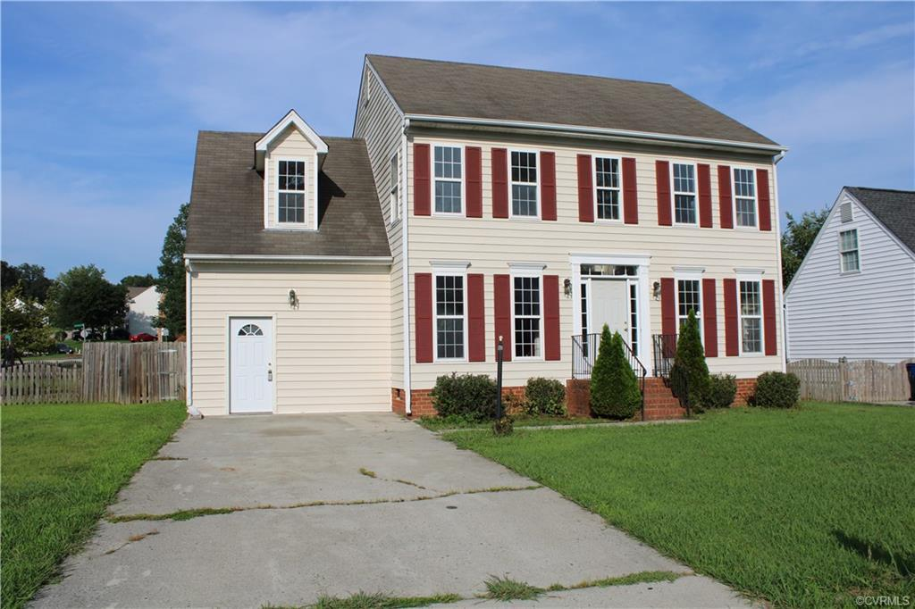 SELLER SAYS BRING OFFERS!!!!Conveniently located 4 bedroom, 2.5 bath colonial with garage converted