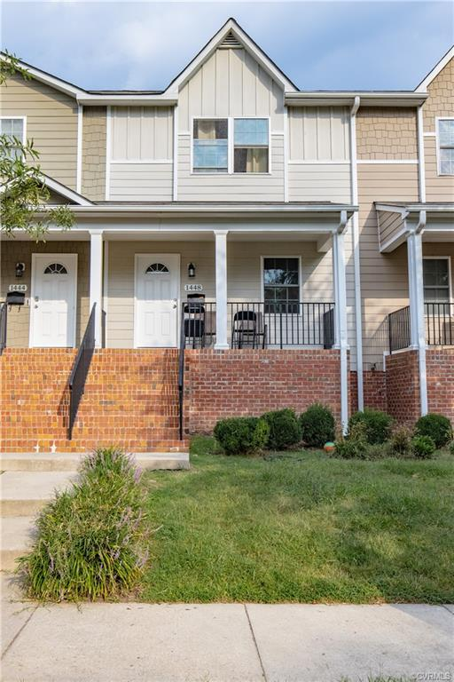 Charming 2 story maintenance free townhome with all NEW carpet upstairs, New granite countertops, Fr