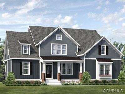 The Augusta Home Plan by Main Street Homes! This stunning Energy Star certified two-story home is UN