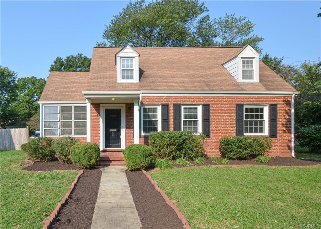 Conveniently and privately situated adjacent to Lewis Ginter Botanical Gardens, this charming brick