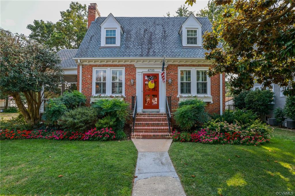 Super cute 3 bedroom 2 full bath Cape loaded with charm! Upon entry is the open family room with har