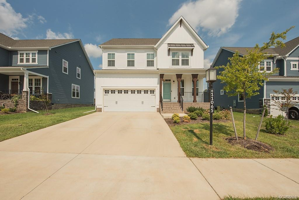 Welcome to 11065 Five Little Loop in the River Mill Subdivision! This home was just built in 2020 an