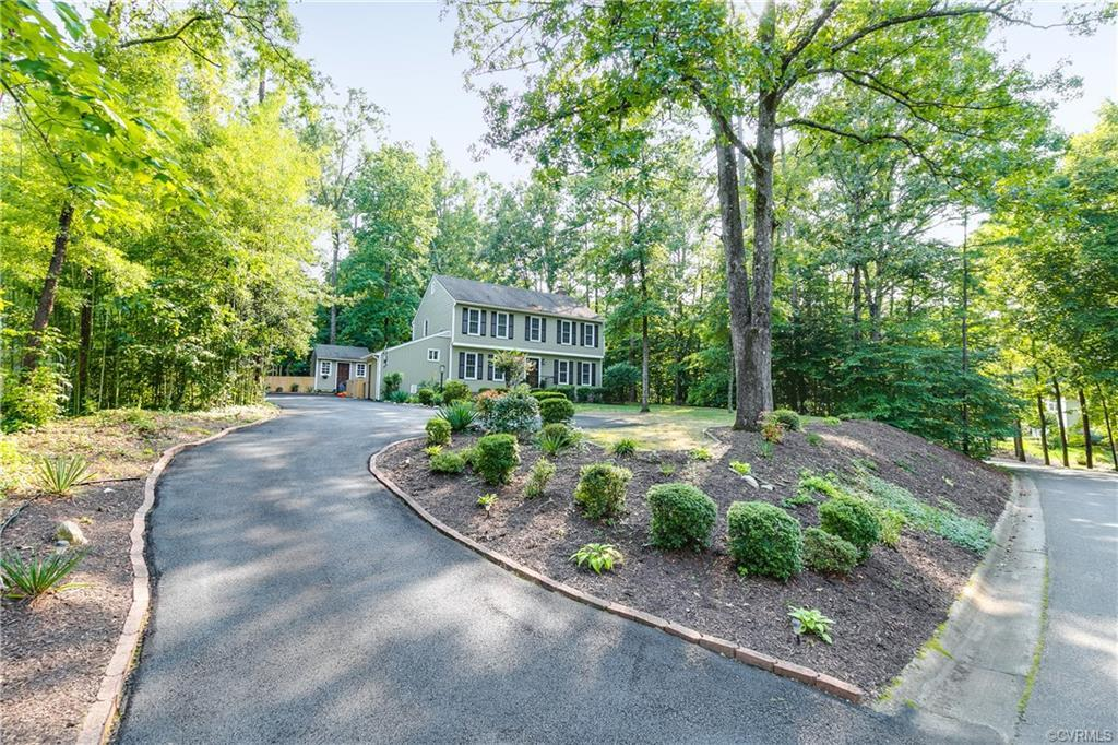 Rare does a home like this become available in the Poplar Grove neighborhood of Brandermill! Though