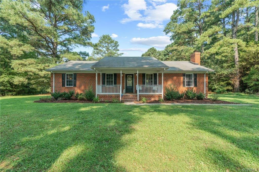Get it while it's hot!  Enjoy single-level living in this modern ranch style home with full master s