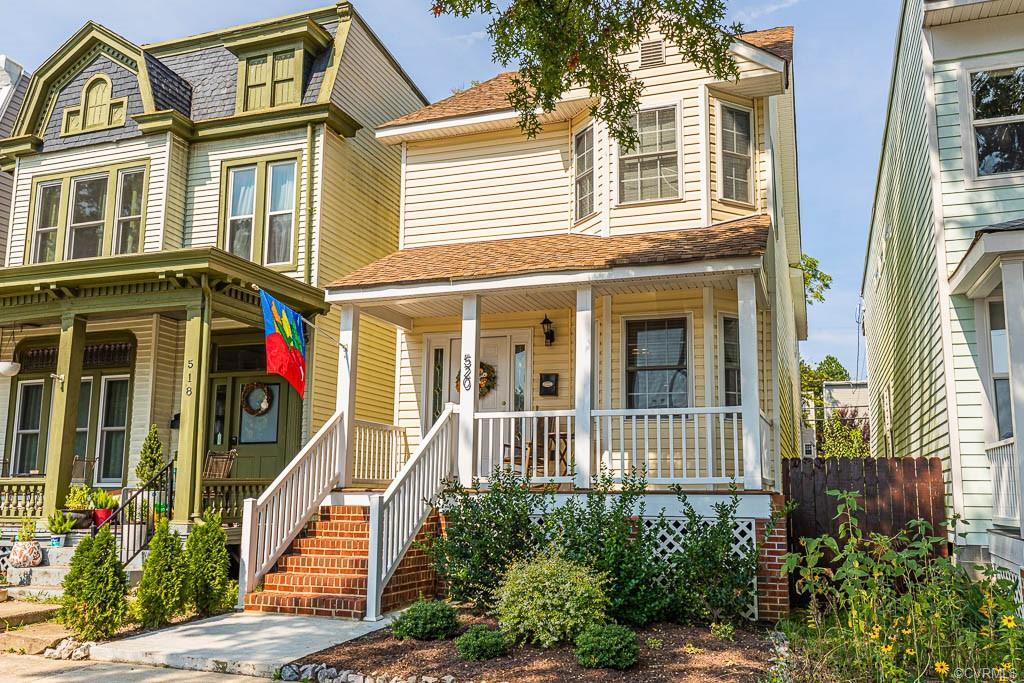Located in the heart of historic Church Hill. Convenience to everything the city has to offer! Walk