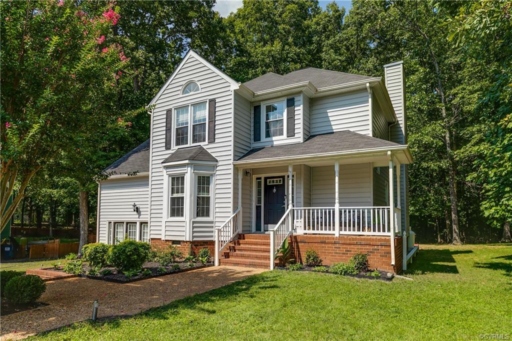 PREVIOUS GOLD MEDAL WINNER PARADE of HOMES. This CHARMING HOME in FAMILY FRIENDLY FIVE FORKS VILLAGE