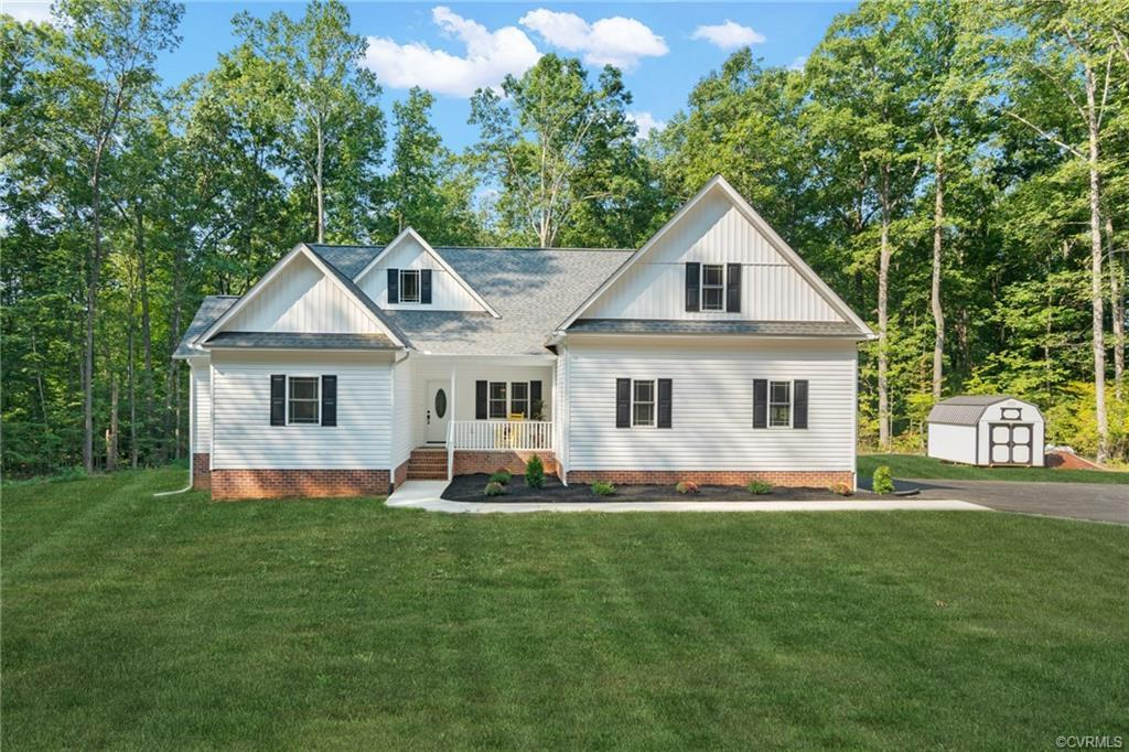 Enjoy custom new construction without the wait! Built in 2021, this home is low maintenance and move
