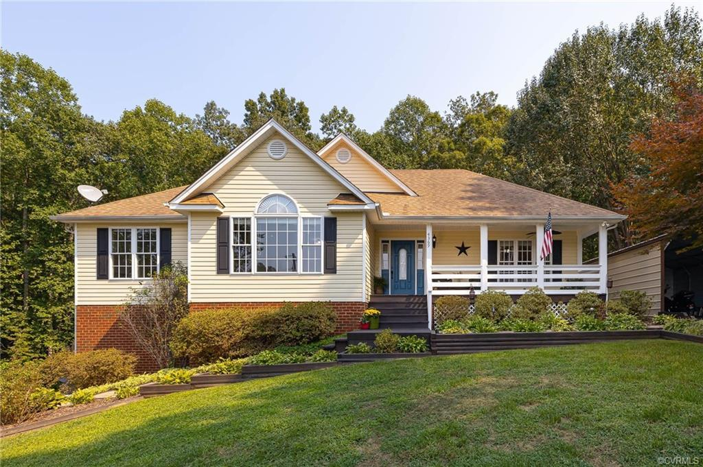 Welcome to your own little piece of paradise! This well loved, 4 bedroom 3 bath home is nestled on 5