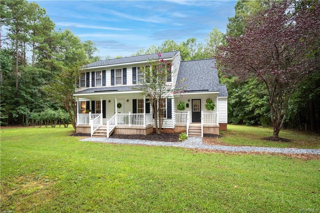 This charming 3 bed 2.5 bath home on 2 acres located in the Walker's Ridge Subdivision will not last