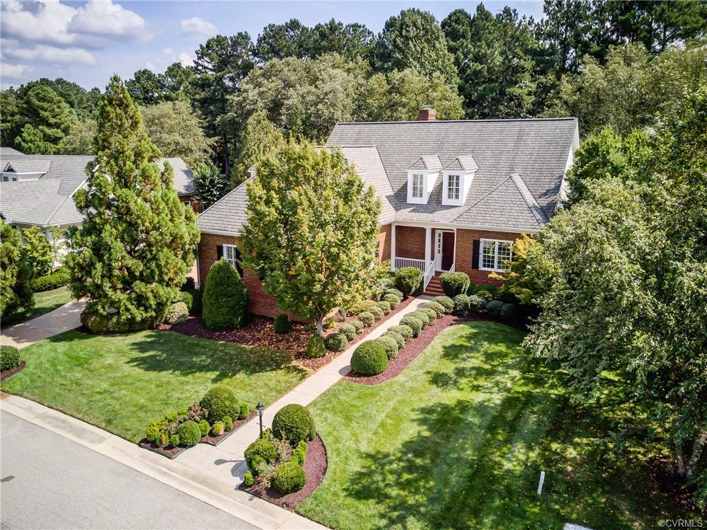 Beautiful, Brick home situated on a quiet cul-de-sac in prestigious Founders Bridge.  Across from In