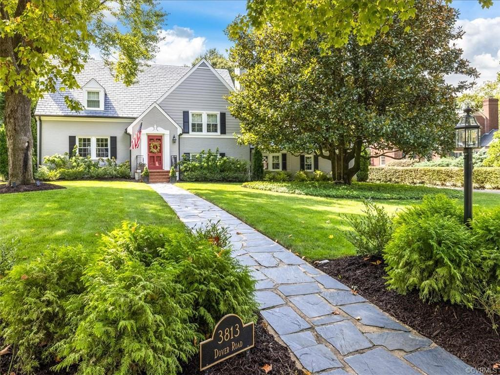 Sited on a large flat lot in the desirable Windsor Farms neighborhood, sits this fully renovated tri