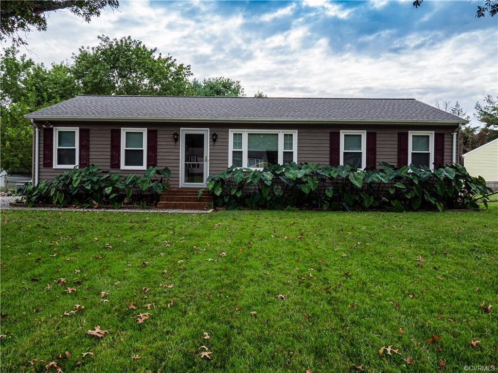 Welcome to your new home!!  This meticulously maintained three bedroom, 1 and 1/2 bath home is clean