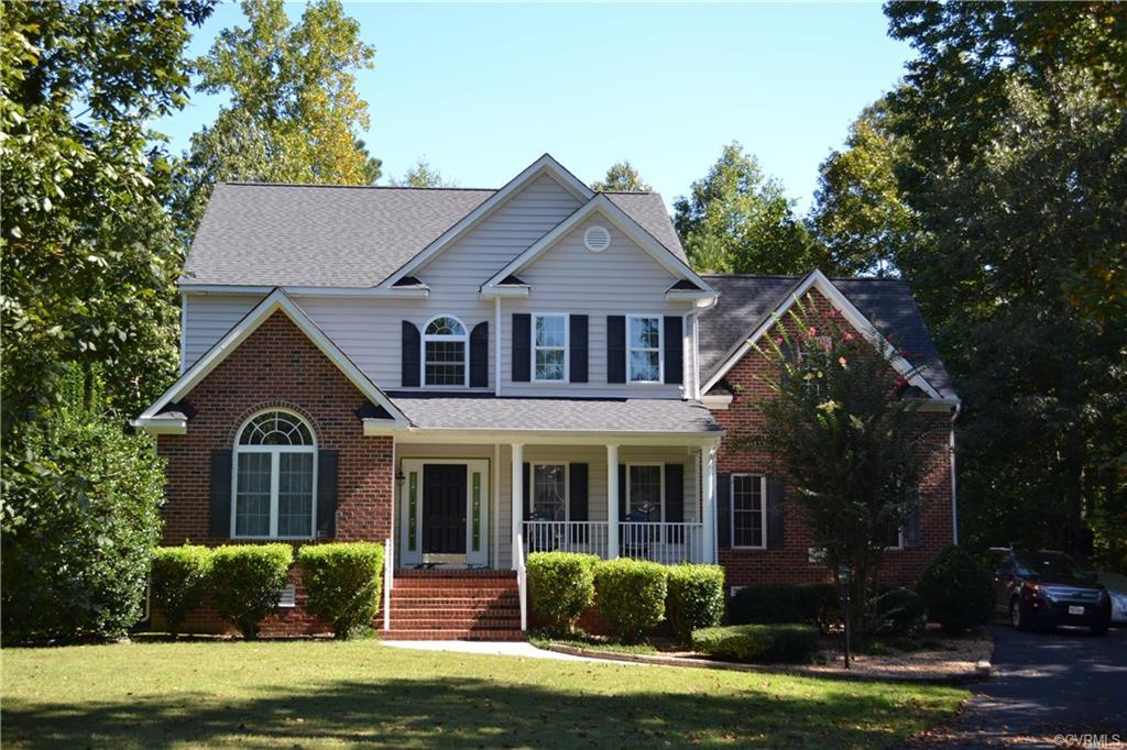 Welcome Home! This gorgeous 4 bedroom 2.5 bath home situated on over 1.5  acres is so spacious and h