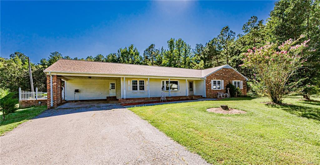 JUST LISTED! 8 acres in Chesterfield!! Charming brick, ranch style home located on a large beautiful