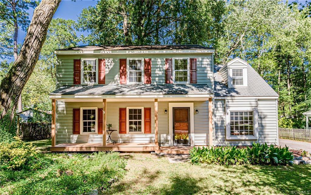 Welcome home to this lovely well-maintained, two-story Colonial home in Settler's Landing! Newly pai