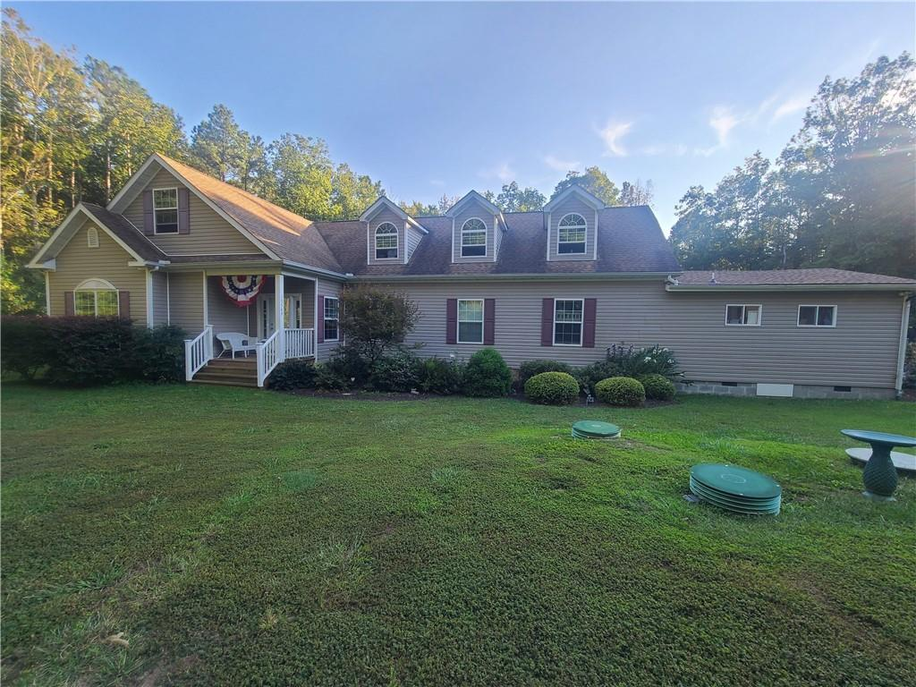 Rare opportunity to own this beautiful ranch style home located on a 4+ acre lot offering lots of pr