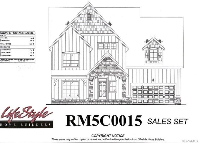 Lifestyle Home Builders presents the Hampshire floor plan with Euro Cottage elevation. This home fea