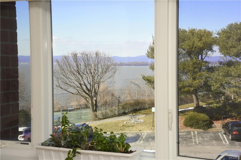 Enjoy views of the beautiful Hudson River from most rooms in this 2 bedroom co-op in conveniently located Scarborough Manor. Located on the banks of the Hudson River, this complex is within walking distance to shops, restaurants, park, & more. Large living room with balcony to relax on those Spring, Summer & Fall days. This light & bright unit has hardwood floors, 9 ft ceilings, moldings, ample closet space & a great floor plan. Kitchen enters the lovely dining rm with large window for a view of the Hudson. Master bedroom, bath, & dressing room at end of long hallway. 2nd bedroom & hall bath. Laundry room on every floor, outdoor heated pool with views of the Hudson River, Clubhouse, library, fitness & billiard room, & a staffed gatehouse 24