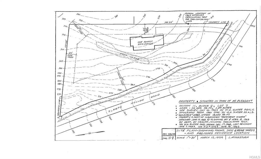 Pocantico Schools, Low taxes and a 1.25 ace lot on which to build your dream house.  Located close t