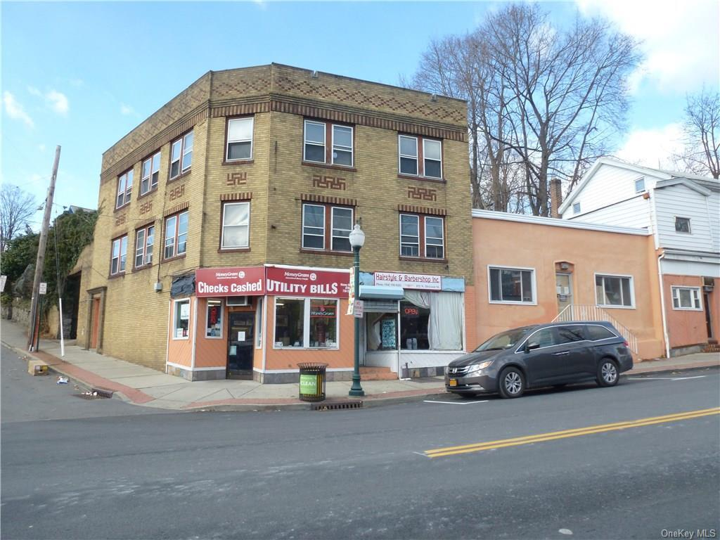 This is a great opportunity to own a mixed use building in Peekskill. The property is zoned C3 and h