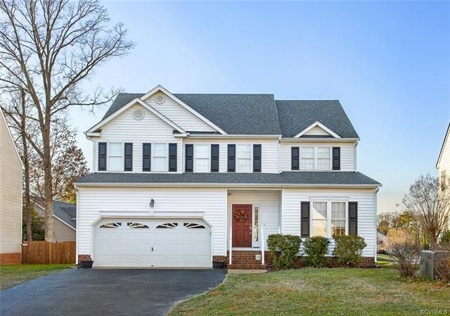 Beautifully maintained 4 bedroom/2.5 bath transitional in Andover Hills of Henrico County. The first
