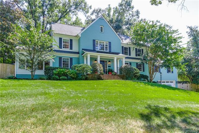 Opportunity knocks to live south of Cary Street Road in a fully updated house. Grand entrance hallwa
