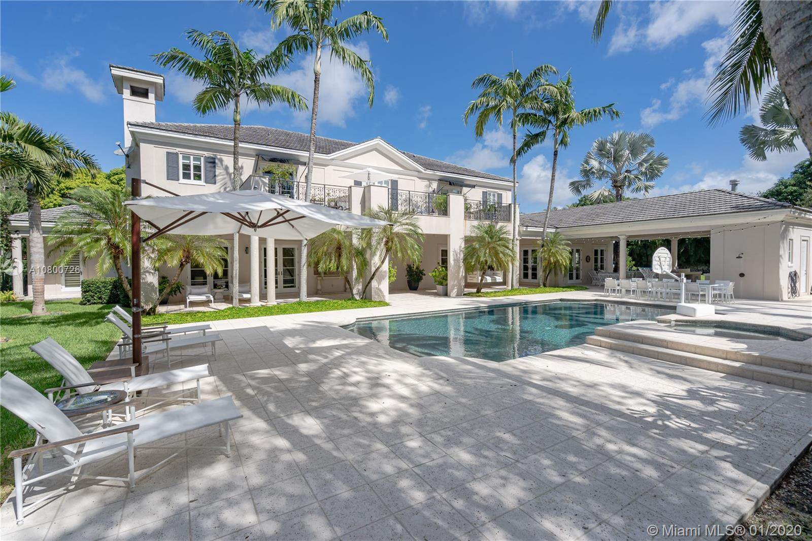 This exquisite residence has been tastefully upgraded while maintaining its modern classic design. S