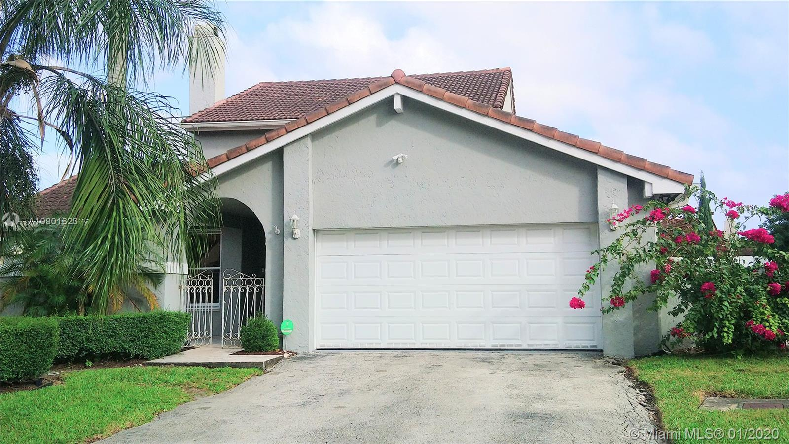 THE PERFECT  POOL HOME IN THE MOORS IN MIAMI LAKES! 100% REMODELED!  4 BEDROOM 2 1/2 BATH DREAM HOME